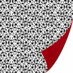 SEI - I'm an Athlete Collection - 12 x 12 Double Sided Paper - Corner Kick