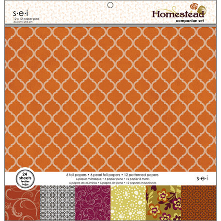SEI - Homestead Collection - 12 x 12 Paper Pad