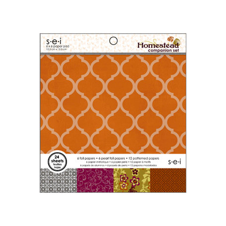SEI - Homestead Collection - 6 x 6 Paper Pad