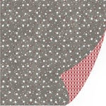 SEI - Silver Valley Collection - Christmas - 12 x 12 Double Sided Glitter Paper - Stargazing