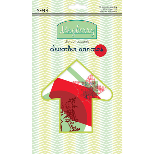 SEI - Mayberry Collection - Die Cut Accents - Decoder Arrows