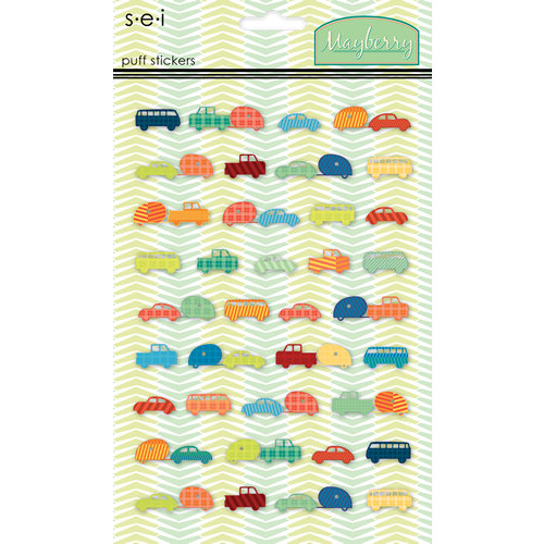 SEI - Mayberry Collection - Puff Stickers