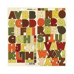 SEI - Entrada Collection - Cardstock Stickers - Alphabet