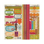 SEI - Mirelle Collection - Cardstock Stickers with Foil Accents