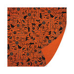 SEI - Salem Heights Collection - Halloween - 12 x 12 Double Sided Paper with Varnish Accents - Spooky Town Bash
