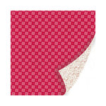 SEI - Berry Melody Collection - Christmas - 12 x 12 Double Sided Paper with Glitter Accents - Twinkling Chirp