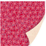 SEI - Berry Melody Collection - Christmas - 12 x 12 Double Sided Paper with Foil Accents - Dazzling Twitter