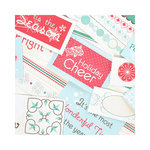 SEI - Berry Melody Collection - Christmas - 12 x 12 Double Sided Perforated Sheet - Merry Music