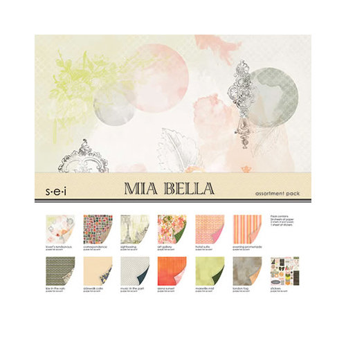SEI - Mia Bella Collection - 12 x 12 Assortment pack