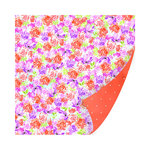 SEI - Diane Collection - 12 x 12 Double Sided Paper with Glitter Accents - Garden Party