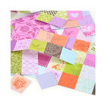 SEI - Diane Collection - 12 x 12 Double Sided Perforated Sheet - Grandmother's Quilt