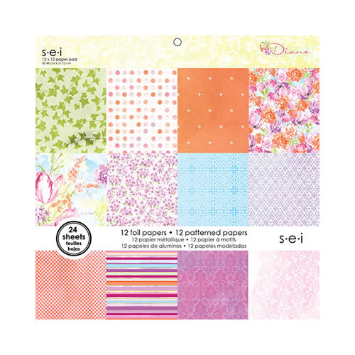 SEI - Diane Collection - 12 x 12 Paper Pad