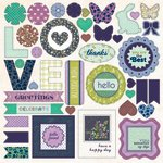 SEI - Pembroke Collection - Die Cut Accents with Foil Accents