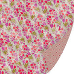 SEI - Azalea Collection - 12 x 12 Double Sided Paper with Glitter Accents - Floral Fantasy