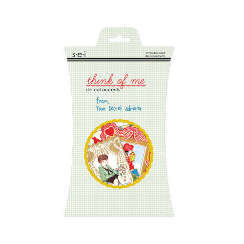 SEI - Think of Me Collection - Die Cut Foil Accents