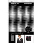 SEI - Iron-On Art - Flocked Transfer Sheet - Houndstooth