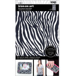 SEI - Iron-On Art - Flocked Transfer Sheet - Zebra