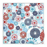 Sassafras Lass - Blue Boutique Collection - 12x12 Paper - Extravagent, CLEARANCE