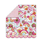 Sassafras Lass - Sunshine Lollipop Collection - 12x13 Double Sided Paper - Fruit Slice Land