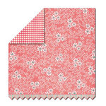 Sassafras Lass - Serendipity Collection - Hog Heaven - 12 x 12 Double Sided Paper - Daisy Dots, CLEARANCE