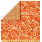 Sassafras Lass - Serendipity Collection - Woodland Whimsy - 12 x 12 Double Sided Paper - Rose Thicket, CLEARANCE