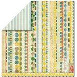 Sassafras Lass - Serendipity Collection - Woodland Whimsy - 12 x 12 Double Sided Paper - Jack's Beanstalk, CLEARANCE