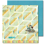 Sassafras Lass - Anthem Collection - 12x12 Double Sided Paper with Border Strip - Ticket to Freedom