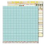 Sassafras Lass - Anthem Collection - 12x12 Double Sided Paper with Border Strip - Classic