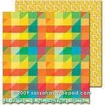 Sassafras Lass - Sweet Marmalade Collection - 12 x 12 Double Sided Paper - Confection
