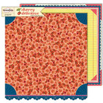 Sassafras Lass - Cherry Delicious Collection - 12 x 12 Double Sided Paper - Blushing