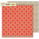 Sassafras Lass - Apple Jack Collection - 12 x 12 Double Sided Paper - Translate
