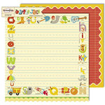 Sassafras Lass - Apple Jack Collection - 12 x 12 Double Sided Paper - Phonetics
