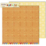 Sassafras Lass - Apple Jack Collection - 12 x 12 Double Sided Paper - My Type, CLEARANCE