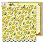 Sassafras Lass - Indie Girl Collection - 12 x 12 Double Sided Paper - Free Spirit