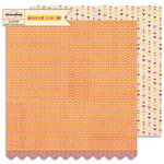 Sassafras Lass - Count Me In Collection - 12 x 12 Double Sided Paper - Polka Polka