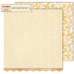 Sassafras Lass - Mix and Mend Collection - 12 x 12 Double Sided Paper - Fancy Free