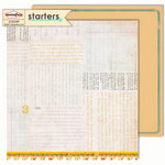 Sassafras Lass - Starters Collection - 12 x 12 Double Sided Paper - Prologue