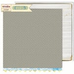 Sassafras Lass - Sunshine Broadcast Collection - 12 x 12 Double Sided Paper - Static