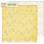 Sassafras Lass - Sunshine Broadcast Collection - 12 x 12 Double Sided Paper - Kindle