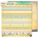 Sassafras Lass - Sunshine Broadcast Collection - 12 x 12 Double Sided Paper - Golden Hour