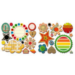 Sassafras Lass - Anthem Collection - Cardstock Stickers - Sweet Treats