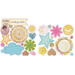 Sassafras Lass - Sweetly Smitten Collection - Cardstock Stickers - Sweet Treats
