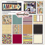 Sassafras Lass - Amplify Collection - 12 x 12 Paper Pad