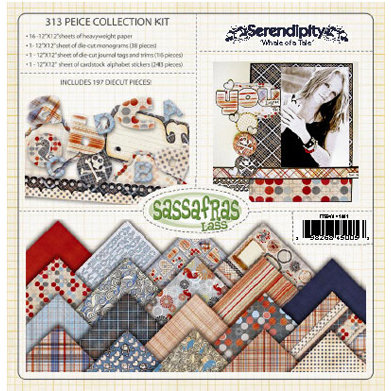 Sassafras Lass - Serendipity Collection - Collection Kit - A Whale of a Tale