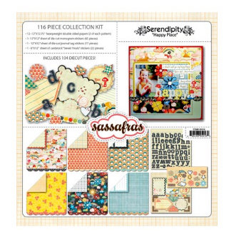 Sassafras Lass - Serendipity Collection - Happy Place - Collection Kit