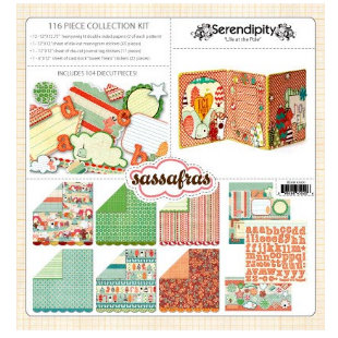 Sassafras Lass - Serendipity - Life At The Pole Collection - 12 x 12 Collection Kit - Life At The Pole, BRAND NEW