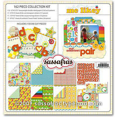 Sassafras Lass - Me Likey Collection - Collection Kit
