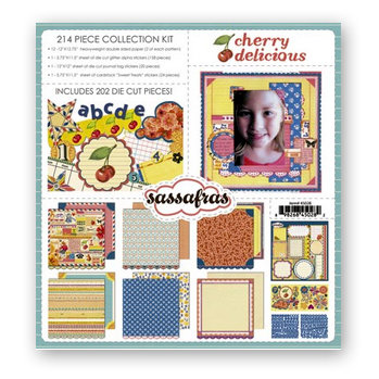 Sassafras Lass - Cherry Delicious Collection - Collection Kit