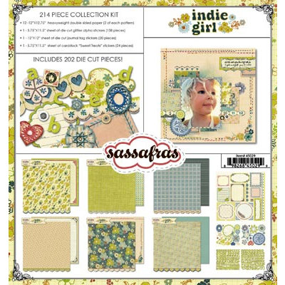 Sassafras Lass - Indie Girl Collection - Collection Kit