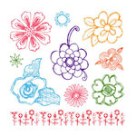 Sassafras Lass - Clear Acrylic Stamps - Sketched, CLEARANCE